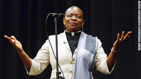 Right Reverend Rose Hudson-Wilkin believes better representation is one of the best ways to encourage vaccine uptake.