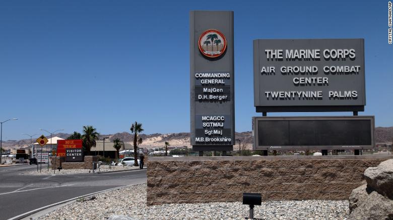 Explosives are missing from the nation's largest Marine Corps base and an investigation is underway