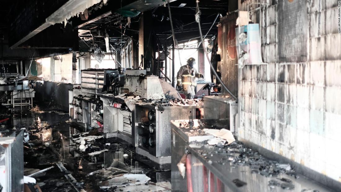 Fire at Shaquille O'Neal's historic Krispy Kreme ruled arson