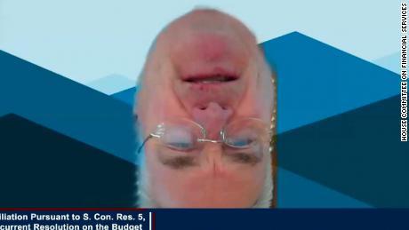 Rep. Tom Emmer upside down