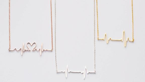 Caitlyn Minimalist Baby Heartbeat Necklace