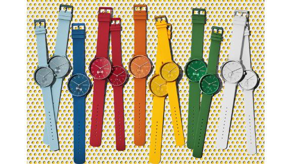 Skagen Aaren Kulør Rubber Strap Watch, 41mm