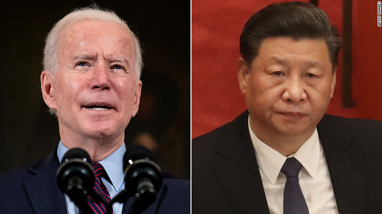 Biden and Chinese President Xi agree in principle to hold virtual meeting