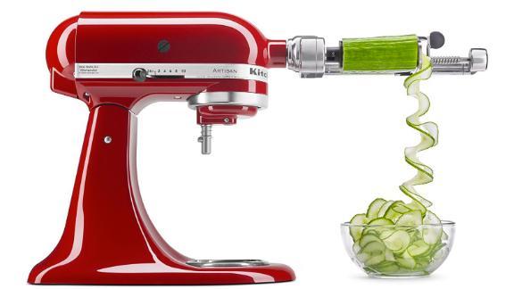 KitchenAid Spiralizer Plus Attachment With Peel, Core and Slice