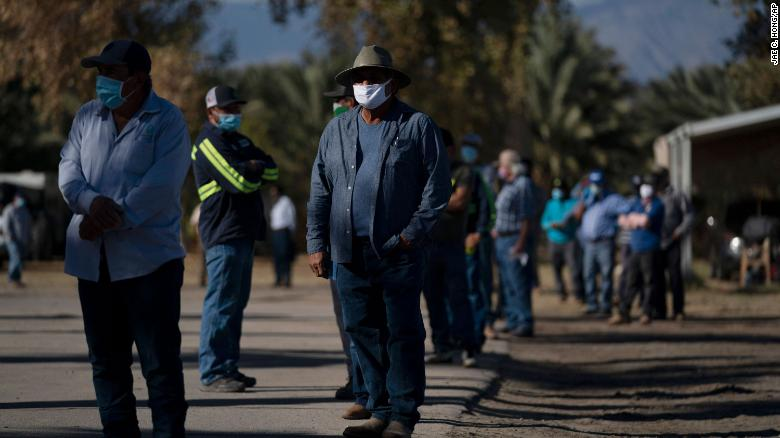 A California city could be the first in the nation to require pandemic hazard pay for farmworkers