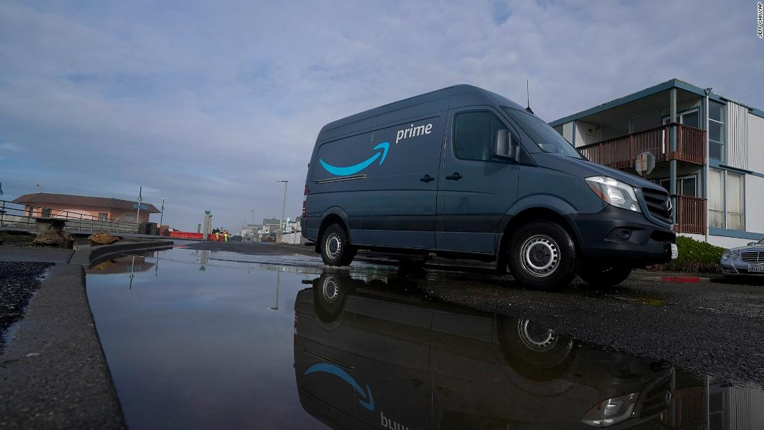 Amazon is putting cameras in its delivery vans and some drivers aren't happy