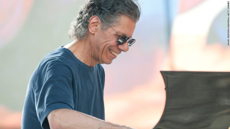 """Renowned jazz pianist and composer <a href=""""http://www.cnn.com/2021/02/11/entertainment/chick-corea-dead/index.html"""" target=""""_blank"""">Chick Corea</a> died from """"a rare form of cancer,"""" a statement on the musician's website said on February 11. He was 79. Over a career that spanned more than 50 years, Corea worked with some of the biggest names in jazz, including Dizzy Gillespie, Herbie Mann and Miles Davis."""