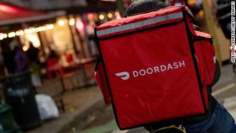 Some delivery workers have no choice but to bring their kids along during the pandemic