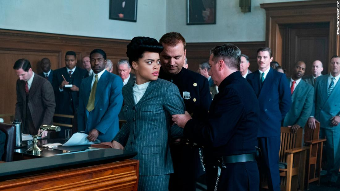 The United States vs. Billie Holiday' review: Andra Day delivers the high  notes in Lee Daniels' disjointed biography - CNN