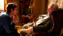 Olivia Colman and Anthony Hopkins in 'The Father,' which opens Feb. 26.