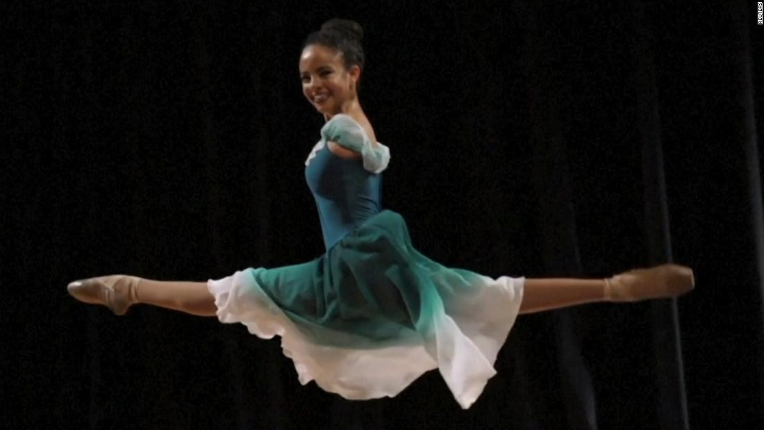 Girl born without arms chasing her dream as a ballerina - CNN Video