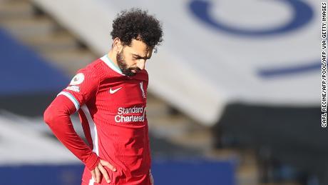 Mohamed Salah gave Liverpool the lead, before Klopp's side collapsed.