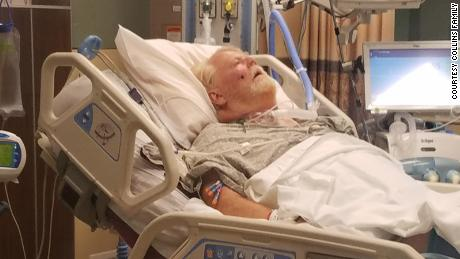 A Kansas grandfather got Covid-19 in July. He's still in the hospital 7 months later