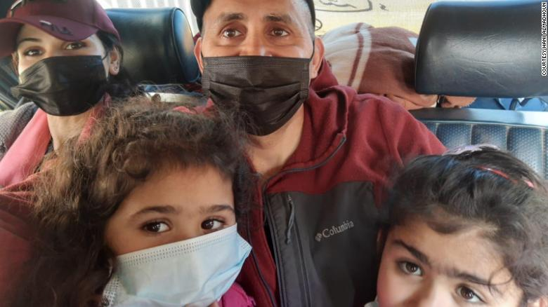 An American family stuck in Gaza for months due to Covid restrictions finally leaves: 'It was hell'