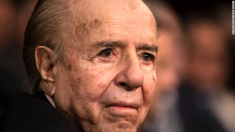 Carlos Menem, former President of Argentina, dies at 90