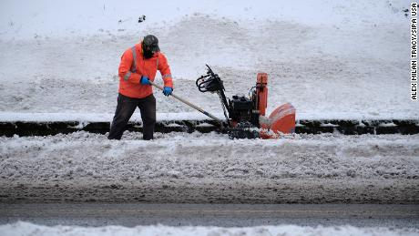 Half of America is under winter weather advisories as freezing temperatures grip the country
