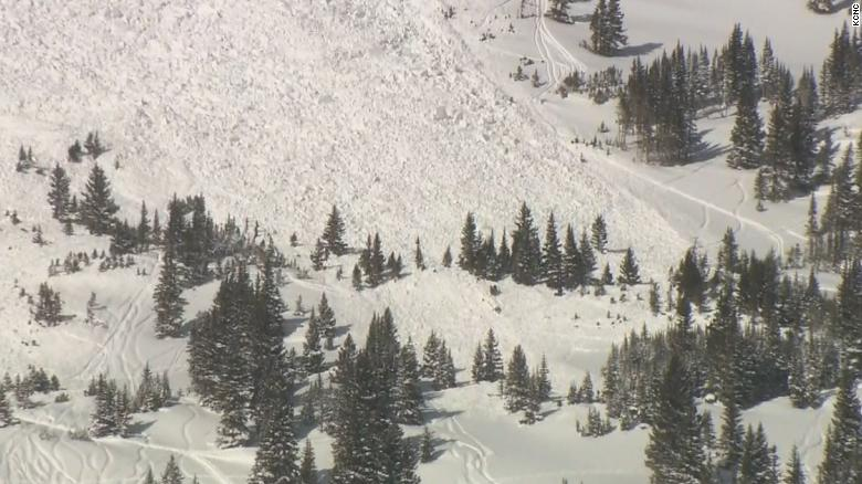 Two die in separate Colorado avalanches on Valentine's Day