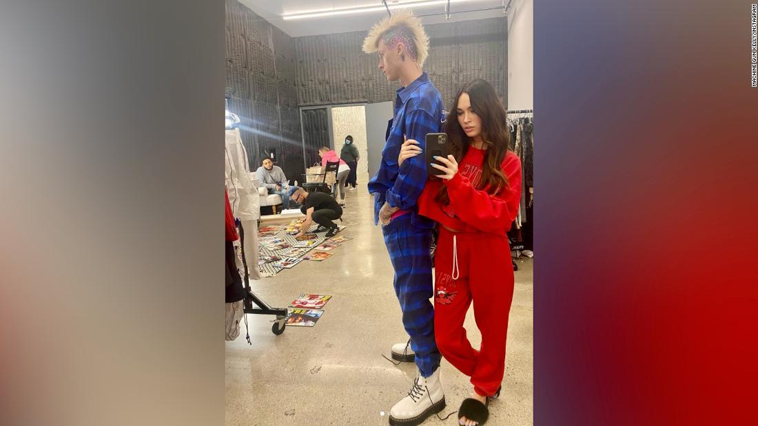 Machine Gun Kelly says he wears girlfriend Megan Fox's blood around his neck - CNN
