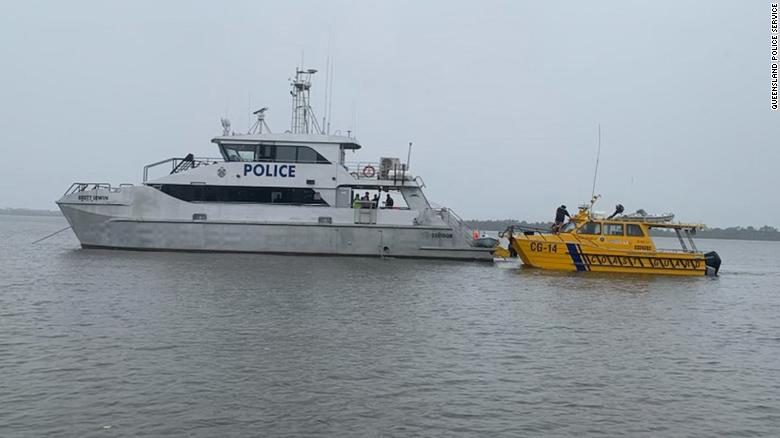 Пошуково-рятувальна операція поблизу острова Хінчінбрук, штат Квінсленд
