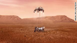 Perseverance rover is coming in for a Mars landing today