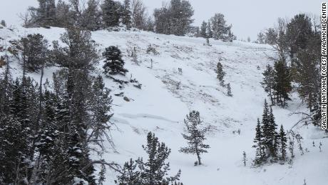 One person died in an avalanche near Beehive Basin in Gallatin National Forest Sunday.