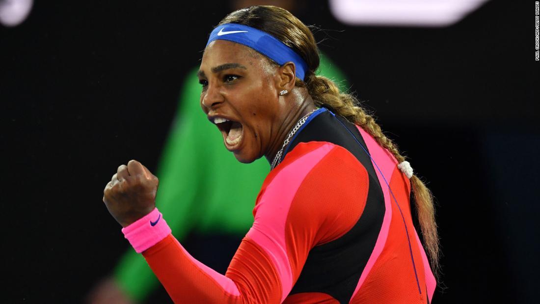 Serena Williams overcomes Simona Halep to set up blockbuster Australian Open semifinal with Naomi Osaka – CNN International