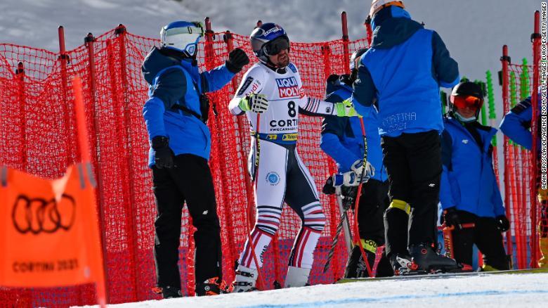 Maxence Muzaton recalls miracle save from crash at skiing world championships