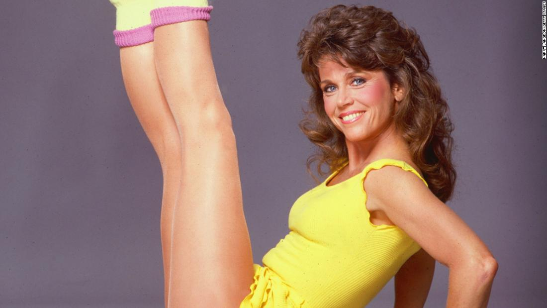 Remember when Jane Fonda revolutionized exercise in a leotard and leg warmers?