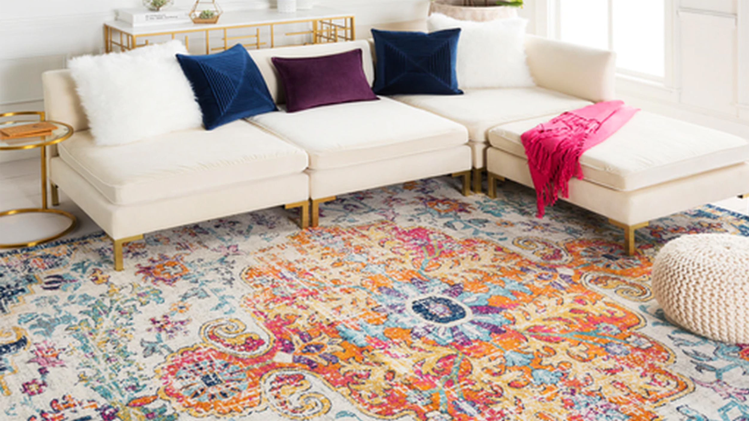 Colorful Area Rugs For Your Home Cnn, Living Room Rugs