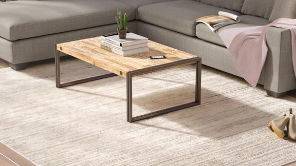Greyleigh Bridgeton Power Loom Gray Sleek Rug