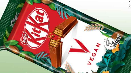 Nestlé is launching a vegan KitKat candy bar this year.