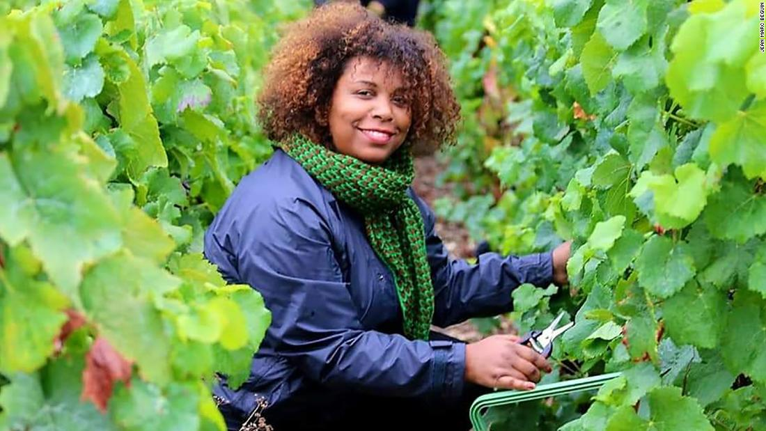 Meet the woman bringing a Caribbean twist to French Champagne