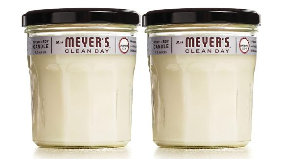 Mrs. Meyer's Clean Day Lavender-Scented Soy Aromatherapy Candle