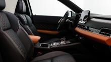 The 2022 Mitsubishi Outlander is offered with optional two-tone interiors.