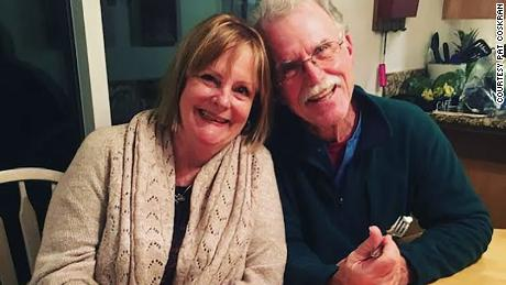 Pat and his wife, Linda, in 2019.