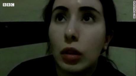 Princesa de Dubai afirma ter sido detida & # 39;  Refém & # 39;  Em gravações de vídeo secretas