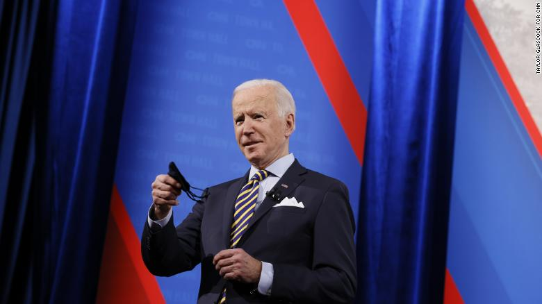 Watch the entire CNN Presidential Town Hall with Joe Biden