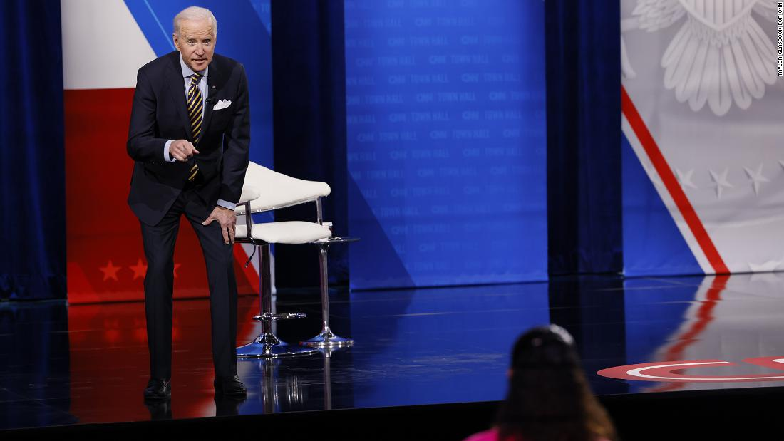 Biden used 3 key stats to make a point. Except they weren't true - CNN Video