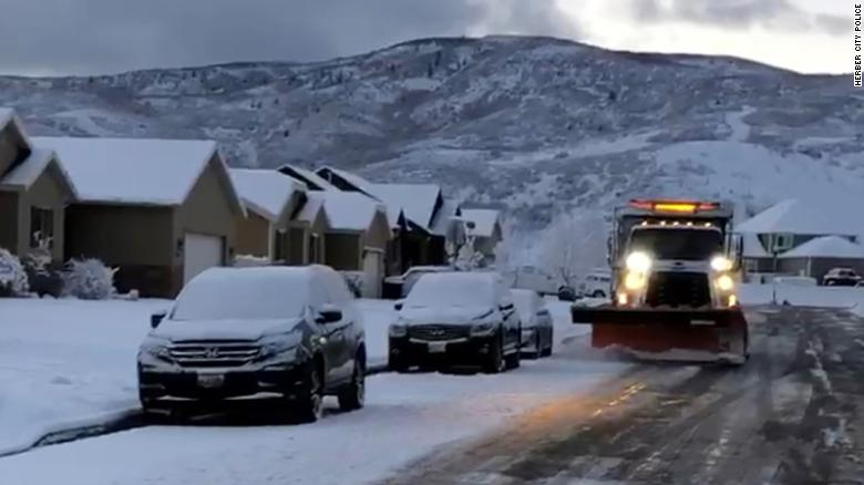 A Utah city has been forgiving parking tickets in exchange for food donations