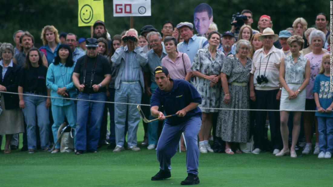 Happy Gilmore and Shooter McGavin are at it again to celebrate 25-year anniversary