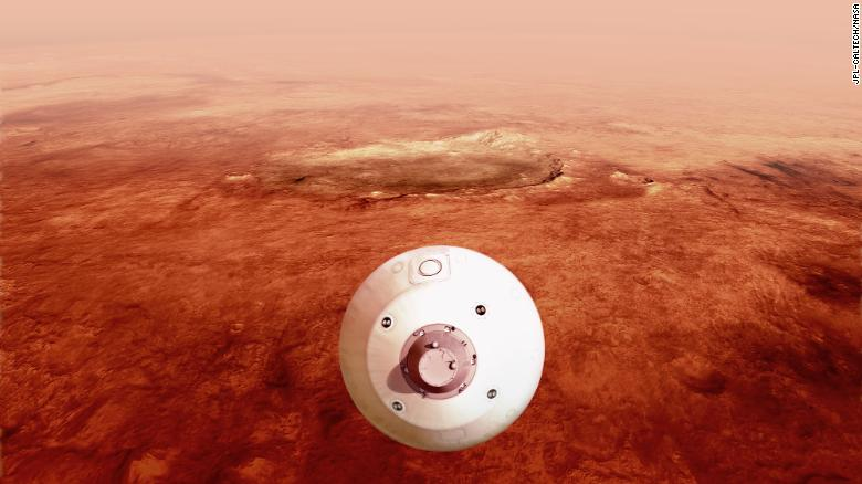 Why I'll be sweating out seven minutes of the Mars mission