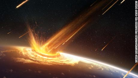 A piece of space debris crashed into Earth 66 million years ago, and a new theory hypothesizes it was a comet.