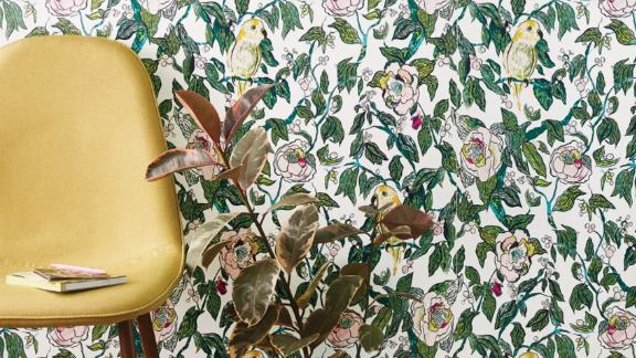 Opalhouse Canary Floral Peel & Stick Wallpaper