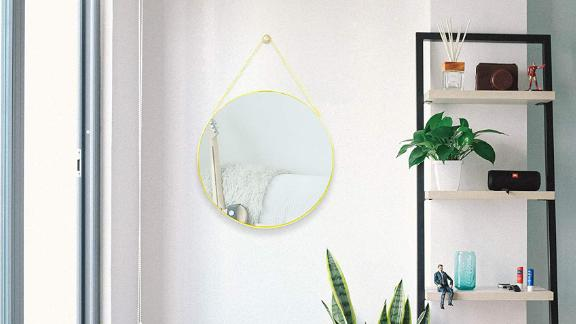 CoolXuan Round Hanging Mirror