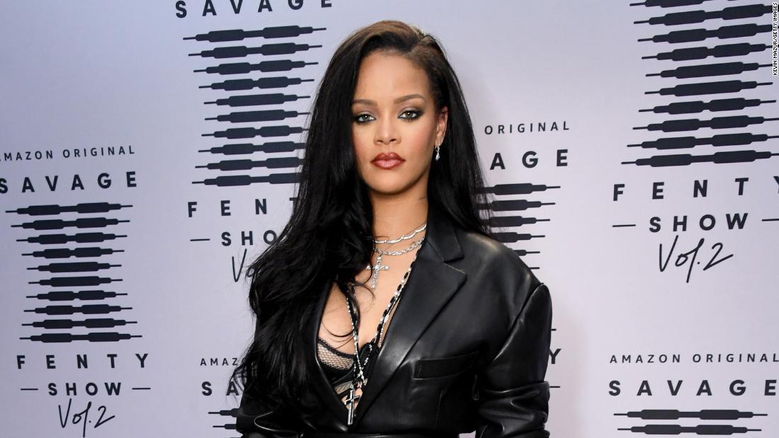 Rihanna Savage X Fenty photo and Ganesha pendant spark backlash in India - CNN Style