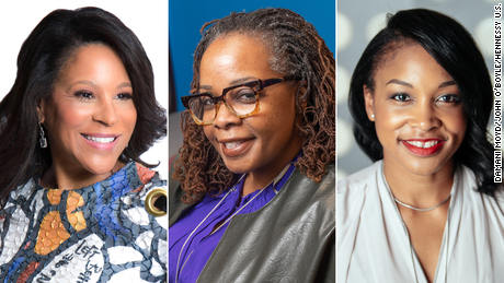 Black women executives making history in the c-suite offer career advice to those following in their footsteps