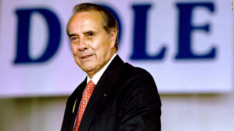 Biden visiting Bob Dole following cancer diagnosis