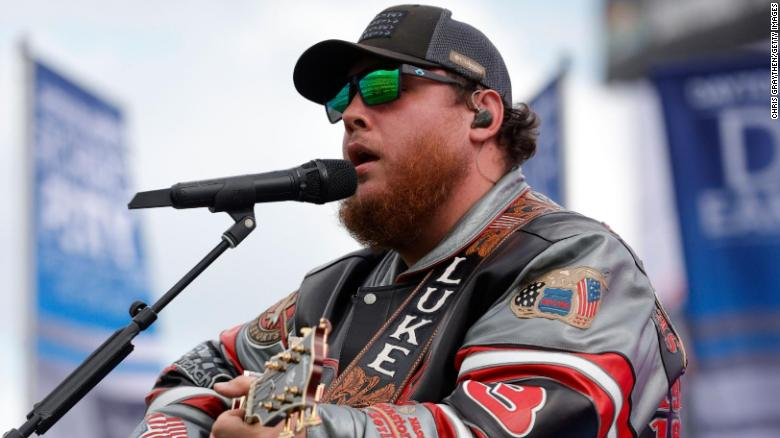 Country singer Luke Combs apologizes for past use of the Confederate flag