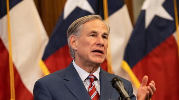 Texas Gov. Greg Abbott. His office says,