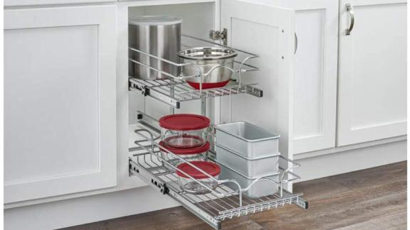 Rev-A-Shelf Wire Basket Pullout Shelf